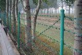 Cerca de alambre bilateral (galvanizada, plástico o PVC cubierto)