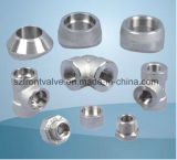 Steel forjado Screwed e interruptor Pipe Fittings