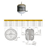 Motor de ventilador elétrico monofásico da caixa de gelo do refrigerador do calefator da certificação do TUV