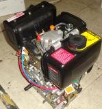 Moteur diesel simple portatif du cylindre 4-Stroke 7HP 296cc