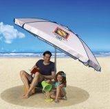 Зонтик блока Sun пляжа полный с анкером песка, 7-Feet