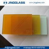 Precio industrial chino aislador Tempered teñido colorido al por mayor del vidrio laminado barato