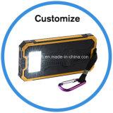 côté portatif de l'énergie 12000mAh solaire