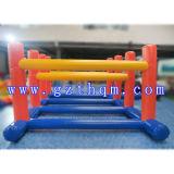 Le jeu gonflable d'obstacle/arène gonflable interactive de pousse folâtre le jeu