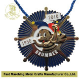 Carnevale su ordinazione Medal, Medallion con Antique Silver Finish per Souvenir
