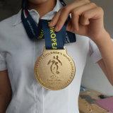 Медали меди серебра золота клуба футбола детей Венгрии европейские