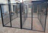 La ferme galvanisée Fence/PVC de fil de filet à mailles a enduit la frontière de sécurité soudée de treillis métallique/clôture de fil galvanisée