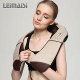 Electricidad Shiatsu amasamiento Cuello Hombro Volver masajeador corporal Cinturón con calor para Ministerio del Interior del coche