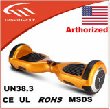 2016 UL2272 6.5 pulgada Hoverboard elegante eléctrico popular con Bluetooth