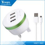 Fábrica do carregador de bateria do telefone móvel do USB de Veaqee 3