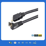 黒いGold Plug 3m HDMI Cable 1080P
