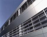 알루미늄 클래딩 벽면이 장식적인 알루미늄에 의하여 시트를 깐다