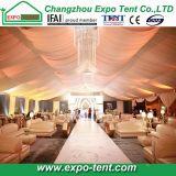 Tenda di alluminio bianca della festa nuziale con i rivestimenti