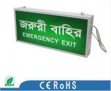 La DEL quittent la lumière Emergency de signe (PRD3606)