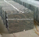 De grote Steen van de Betonmolen van de Tegel van de Plak van de Steen van de Plak van de Tegel van de Steen van het Graniet van China Juparana van de Ader Natuurlijke