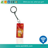 Étiquette époxy irrégulière de l'IDENTIFICATION RF NFC de la forme 13.56MHz Ntag213 144bits