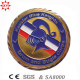 Sample livre 3D Challenge Metal Coins com Epoxy Coating