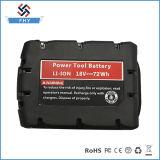 Batería de reserva roja de la herramienta eléctrica del Li-ion 4.0ah de la batería de litio de Milwaukee 48-11-1840 M18 18V Xc