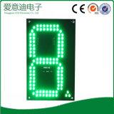 segno verde di prezzi di gas di 8inch LED
