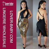 Partei-Kleid der Dame-Bodycon Bandage Club (L36091)