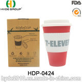 Verschiedene Farben-Klimabambusfaser-Kaffeetasse (HDP-0424)