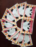 인쇄 Differfnt 다채로운 모양 압축 목욕 갯솜 포장