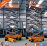 空気の働きプラットホームの可動装置は上昇を切る