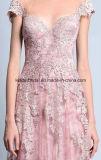 Пинка мантии мати шнурка платья вечера Bc1134 выпускного вечера официально изготовленный на заказ