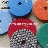 ぬれた乾燥した磨く大理石のための適用範囲が広い研摩の樹脂のダイヤモンドディスク
