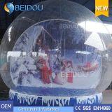 Globi umani gonfiabili giganti decorativi della neve di natale durevole da vendere