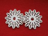Disco de cerámica de la buena cordierita refractaria termal
