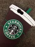 iPhone 6の/iPhone 6のプラスのケースのためのStarbucksのコーヒー・マグの特性のシリコーンの電話箱