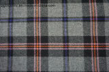 Ткань шерстей шотландки с 4 цветами