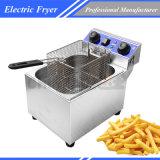 Brandnew 13L определяют Fryer корзины электрический коммерчески глубокий с отметчиком времени