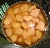 공장 가격을%s 가진 소금물에 있는 통조림으로 만들어진 참치