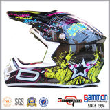 2016 DOT Graffiti Motorcross/van Road Helmet (CR409)