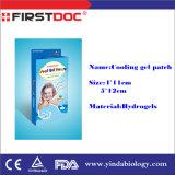 Efficace rilievo di raffreddamento del gel di rilievo di febbre e di stanchezza
