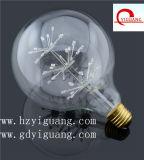 Heiße verkaufende birnenförmige LED-sternenklare Birne