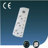 Extension BRITANNICO Electrical Socket con il USB