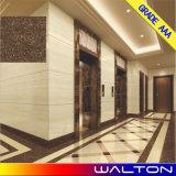 Azulejo de suelo de cerámica de la porcelana Polished de Pulati del color oscuro 600*600