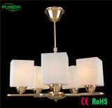 Освещение канделябра традиционного европейского типа стеклянное (P-8115/5)