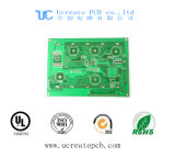 De Raad van PCB voor Het Deel van de Airconditioner met het Groene Masker van het Soldeersel