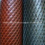 Покрынная PVC расширенная ячеистая сеть металла