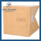 Sac de papier de luxe de 2017 coutumes pour le tissu et les achats (prix de vente d'usine) (DM-GPBB-046)
