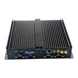 内蔵2GB RAMの1037u FanlessのパソコンのLinuxによって埋め込まれる産業パソコン