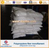 Micro fibra curvada do Polypropylene para o concreto