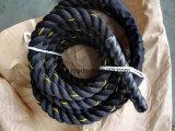 トレーニングの抵抗ロープまたはポリエステル戦いロープ力の練習