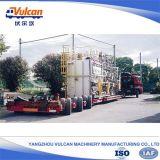 Reboque hidráulico personalizado do caminhão da suspensão do transporte pesado Semi