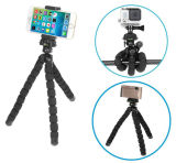 Flexibler Stativ-Standplatz-Halter für Smartphone/Digitalkamera