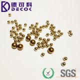 0.6mmの釘の装飾のための黄銅によってめっきされるクロム鋼の球